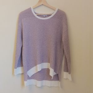 FATE Lavendar Purple Knit Pullover Crew Sweater